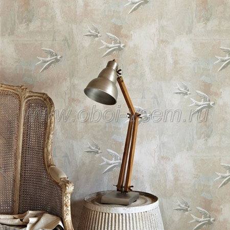 Обои  Fresco Birds Natural Birds & Bees (Barneby Gates)