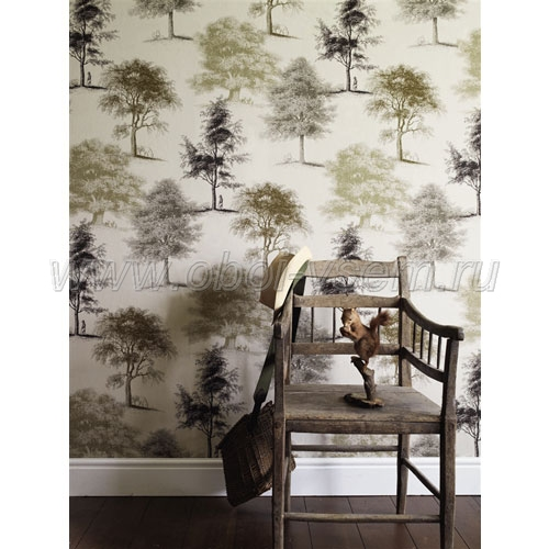 Обои  LW1460 Art House Wallpaper (Linwood)