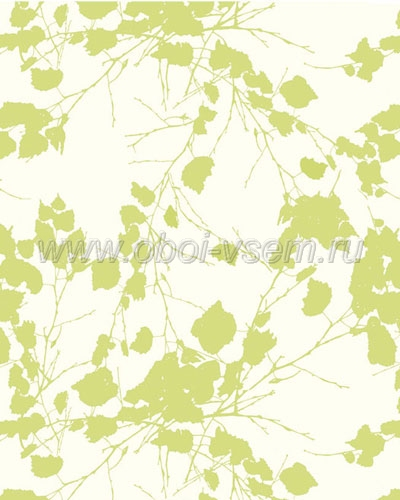 Обои  301007 Nordic Leaves (Tapet Cafe)