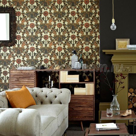 Обои  0282NBBURNI London Wallpapers III (Little Greene)