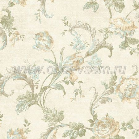 Обои  dl60404 English Elegance (Wallquest)