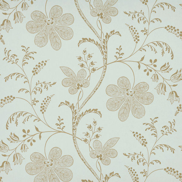 Обои  Bedford Square Larimar London Wallpapers V (Little Greene)