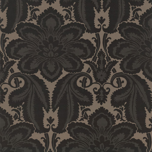Обои  Albermarle St Charcoal London Wallpapers IV (Little Greene)