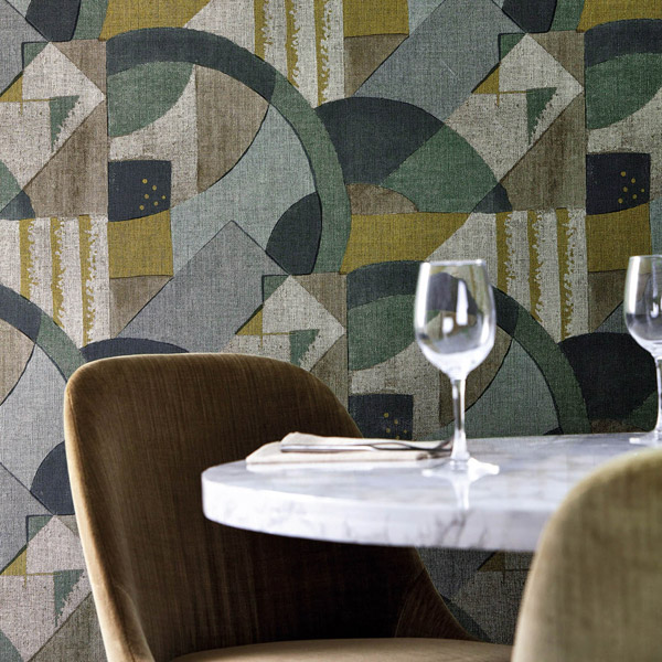 Обои  312887 Rhombi Wallcoverings (Zoffany)