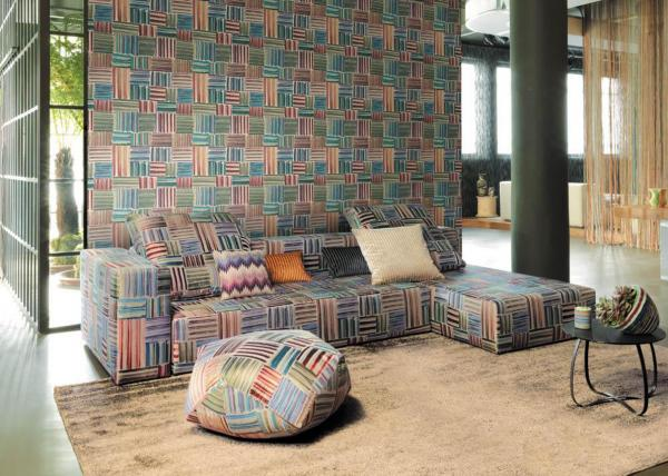 Обои  10200 Wallcoverings 03 (Missoni Home)