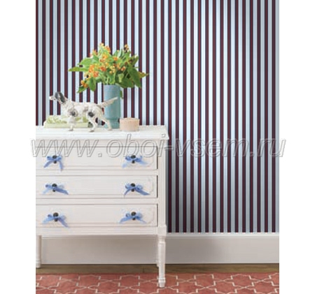 Обои  cs80501 Nantucket Stripes (Pelican Prints)