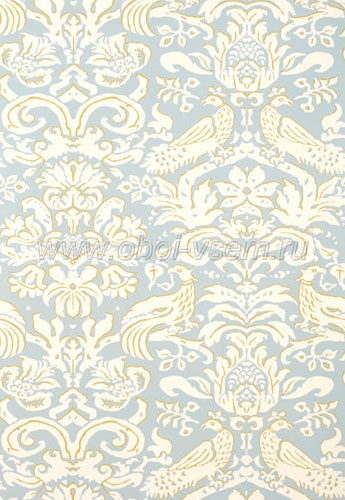 Обои  5003610 Palazzo Damasks (F. Schumacher & Co)