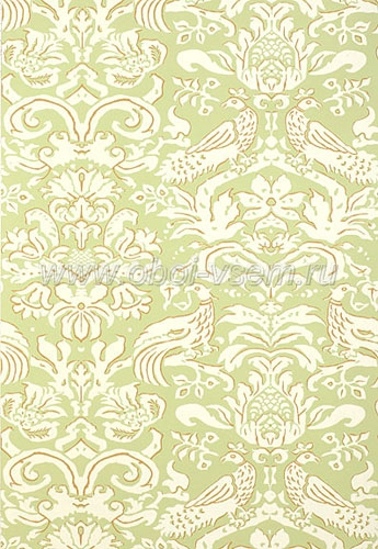 Обои  5003614 Palazzo Damasks (F. Schumacher & Co)