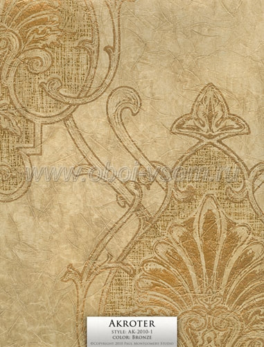 Обои  AK-2010-1 Bronze Imperivm Collection Wallpapers (Paul Montgomery)
