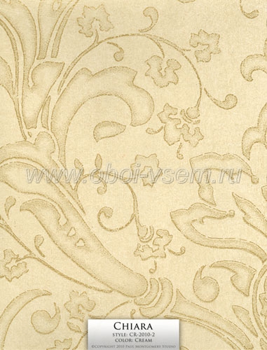 Обои  CR-2010-2 Cream Imperivm Collection Wallpapers (Paul Montgomery)