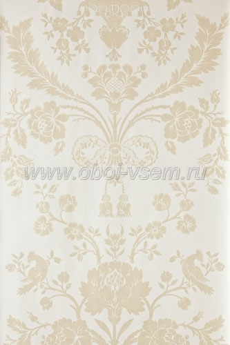 Обои  BP902 St. Antoine Damask (Farrow & Ball)