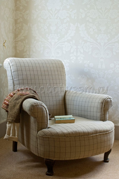 Обои  BP906 St. Antoine Damask (Farrow & Ball)