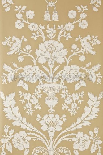 Обои  BP908 St. Antoine Damask (Farrow & Ball)