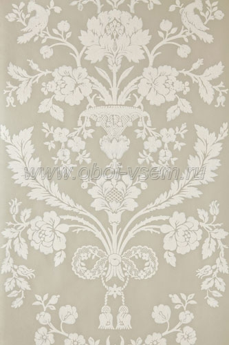 Обои  BP909 St. Antoine Damask (Farrow & Ball)