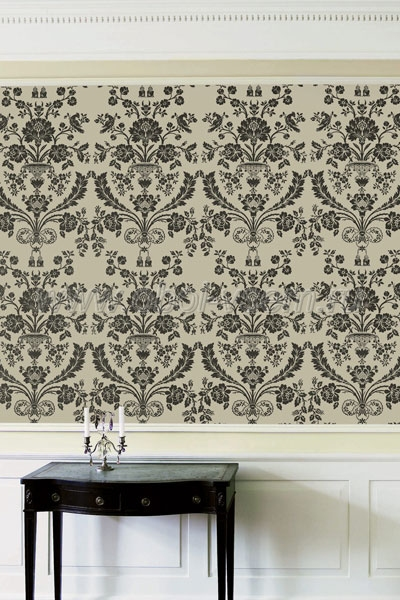 Обои  BP910 St. Antoine Damask (Farrow & Ball)