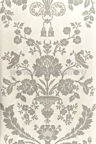 Обои  BP1722 St. Antoine Damask (Farrow & Ball)