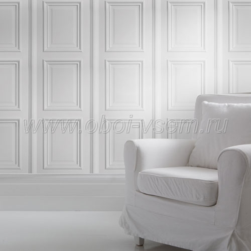 Обои  White Panelling Mineheart Wallpapers (Mineheart)