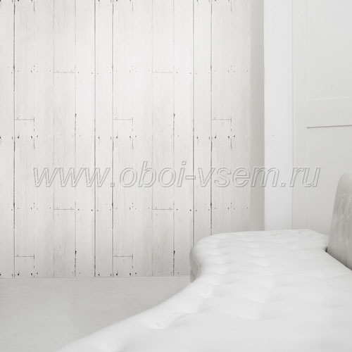 Обои  White Planks Mineheart Wallpapers (Mineheart)