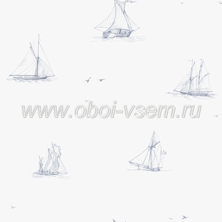 Обои  2872 Sails & Stripes (Decor Maison)