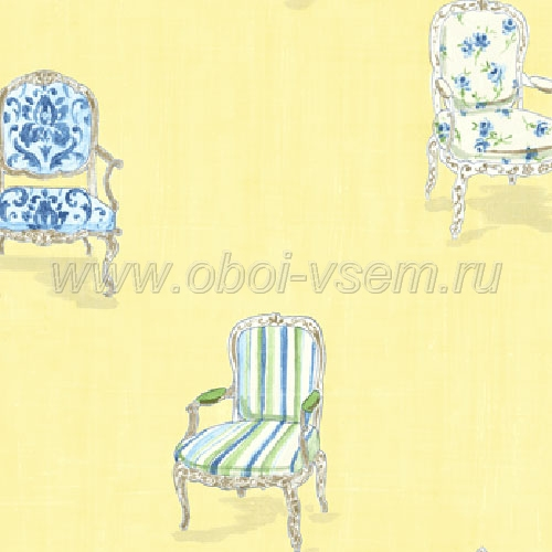 Обои  ff92402 Fresh Floral (Fresco Wallcoverings)